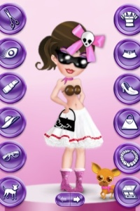 Suzy Dress Up Screenshot